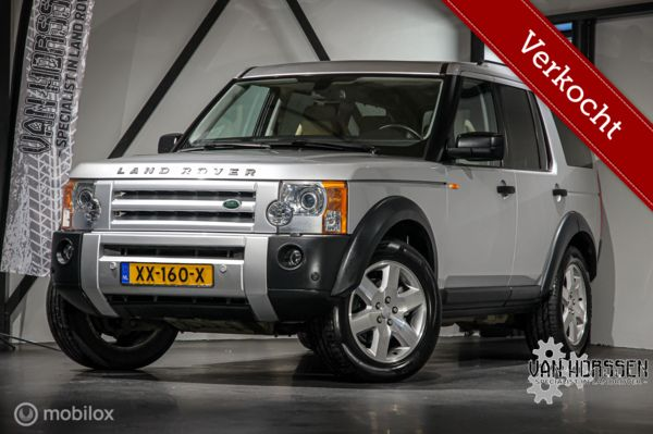 VERKOCHT Land Rover Discovery  4.4 V8 HSE 7-persoons Youngtimer