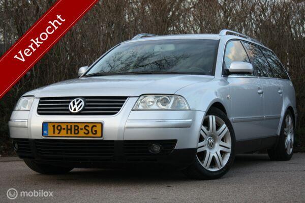 Youngtimer VW Passat Variant 2.8 V6 4Motion navi/stoelverw