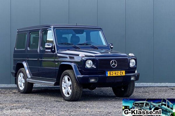 Zeer nette en orginele Mercedes G400 CDI YOUNGTIMER (BTW auto)