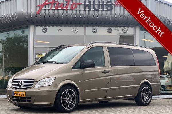 Mercedes Vito 113 CDI Lang Dubbel cabine *Automaat* Vol Luxe