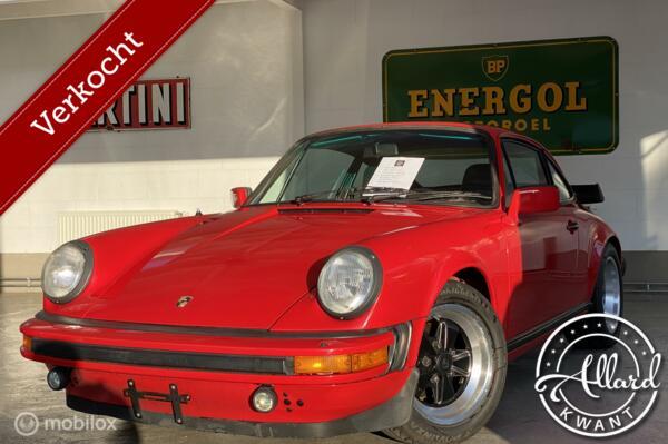 Porsche 911 3.0 SC | 1983 | 204 pk | veel documentatie |