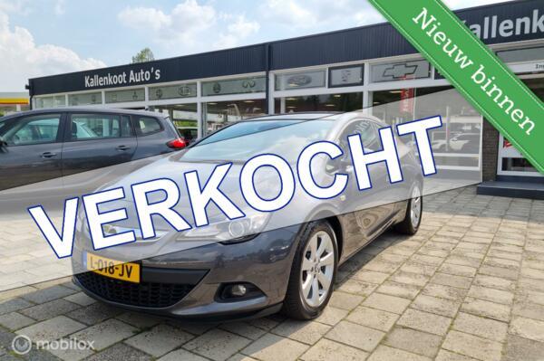 Opel Astra GTC 1.4 T (140 PK), PDC V+A, DAB+, Airco, Cruise