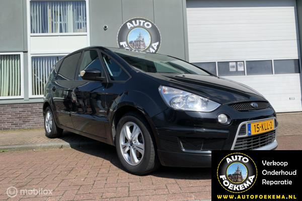 Ford S-Max 2.0 Titanium 7persoons. Airco/clima, lmv, mooie nette auto