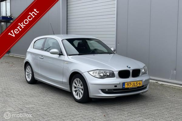 BMW 1-serie 118d High Executive Airco/Cruise/Alpine/PDC