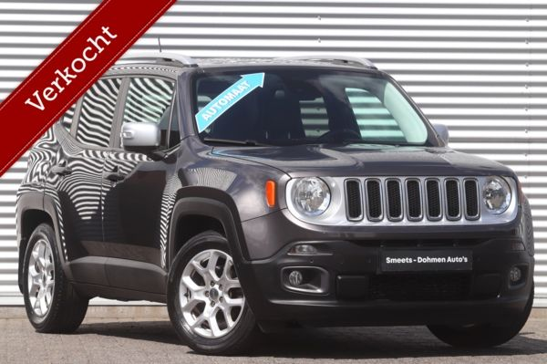 Jeep Renegade 1.4 MultiAir Limited Automaat | Leer | ALL IN Prijs!