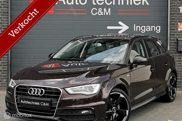 Audi A3 Sportback 1.8 TFSI S-Line 180PK/S-Tronic/Navi/Leder/