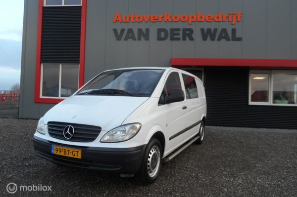 Mercedes Vito Bestel 109 CDI 320 INVALIDE BUS 5 persoons