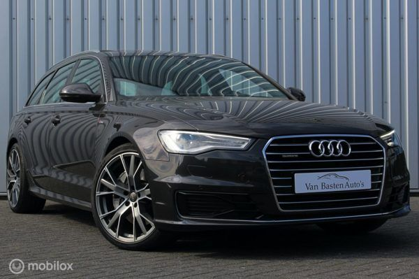 "Audi A6 Avant - 3.0 TDI BiT quattro Premium Edition 20"" | 320pk | Comfort stoelen| Drive select | Memory | Panorama dak |"