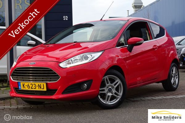 Ford Fiesta 1.0 Style sport. Stoelvw Pdc BT