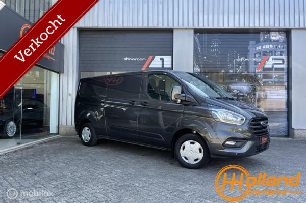 Ford Transit Custom 300 2.0 TDCI L2H1 Ambiente |airco | LED! ANTRACIET