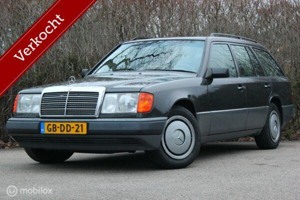 1e eigenaar Mercedes-Benz 300TD S124 automaat airco/tempomat