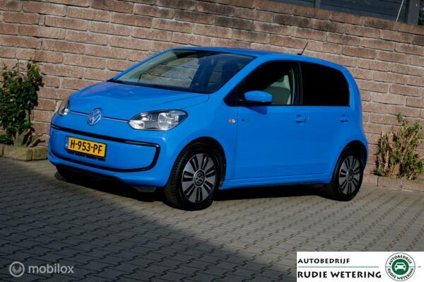 Volkswagen e-Up!  nav/tel/ecc/verw. voorstoelen/pdc/lmv15 4% bijtelling