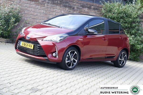 Toyota Yaris 1.5 Hybrid Automaat Style Selection cam/ecc/applecarplay/lmv16