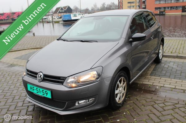 Volkswagen Polo 1.2-12V BlueMotion Style Airco Stoelverwarm