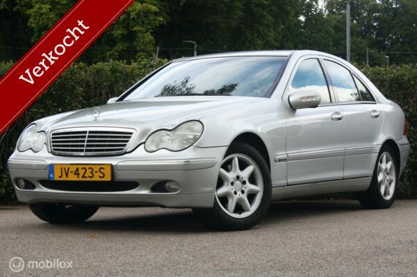Mercedes C270 cdi Elegance AUT   170 pk/goede staat/trekhaak