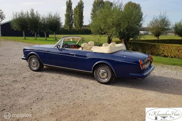 Rolls-Royce Corniche 6.8 IV Convertible limited edition
