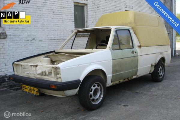 Volkswagen Caddy Bestel 1.6D MK1 (Bj 1985)  Gereserveerd!