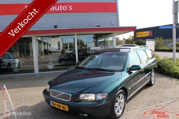 Volvo V70 2.4 Bi-Fuel dealer oh nw apk