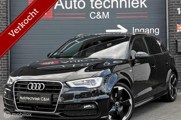 Audi A3 Sportback 1.8 TFSI 3xsline/s-tronic/navi/led/b&o/vol