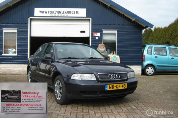 Audi A4 1.6 Trekh 1ste eigenaar Garantie, allelle inruil mog