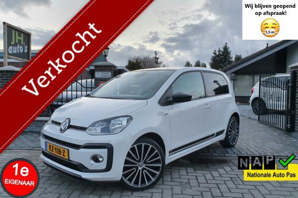 Volkswagen Up! 1.0 TSI High UP! ✅R-Line Leer/Pano/Beats/Cam
