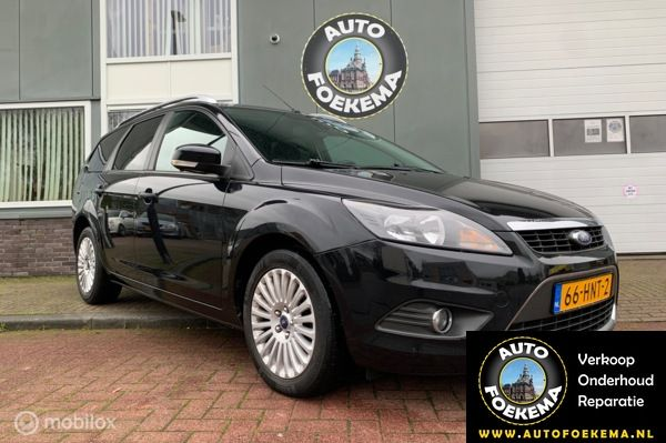 Ford Focus Wagon 1.6 Titanium Automaat, Trekhaak, Airco, Cruise control, etc.