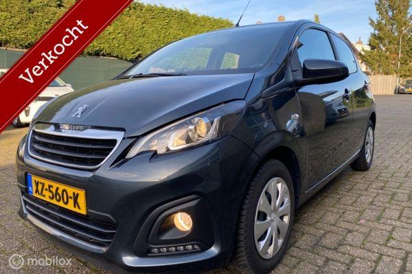Peugeot 108 1.0 e-VTi  5 deuren / Apple CarPlay / 5300 km!