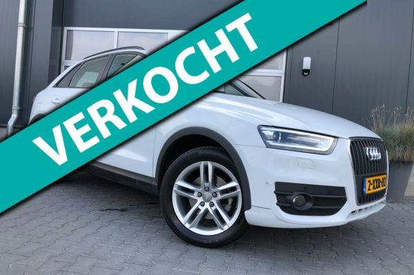 Audi Q3 2.0 TDI quattro S Edition 177PK S-Line S-Tronic Aut Xenon Led Sportstoelen