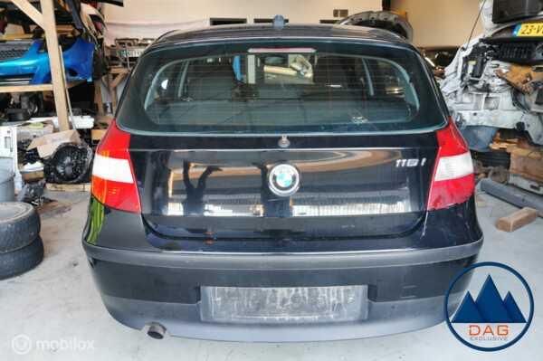 BMW 116I JET BLACK 668 1-SERIE E87 DEMONTAGE AUTO
