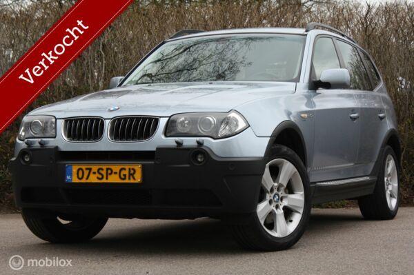 BMW X3 2.0i Xdrive | ketting+diff vv | navi/cruise/trekhaak
