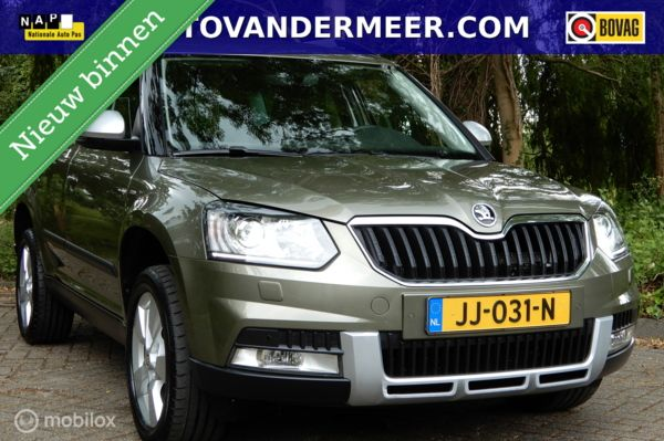 Skoda Yeti 1.2 TSI Greentech JOY XENON+LED/NAVI/CAMERA/STOELVW/110PK/ETC.!