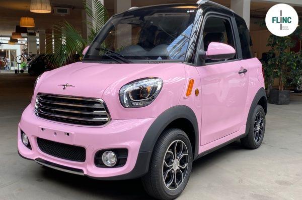 Flinc M2 Pink metallic 80km/h. Nieuw, 100% elektrisch.