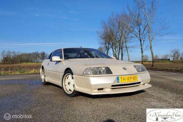 Renault Alpine 2.8 V6 GT schuurvondst