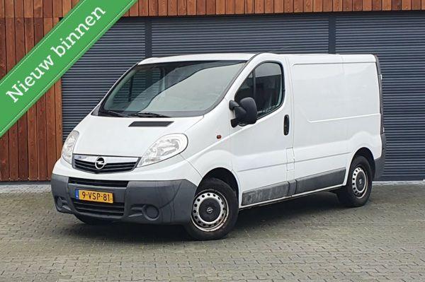 Opel Vivaro bestel 2.0 L1H1 Airco/Nieuwe Koppeling/Garantie!