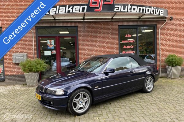 BMW 3-serie Cabrio 323Ci Executive