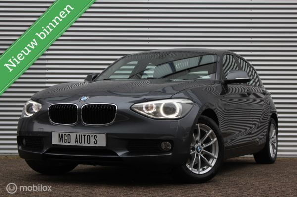 BMW 1-serie 116i Business /AUTOMAAT/XENON/LED/LEDER/BLUETOOTH/STOELVERW./PDC!