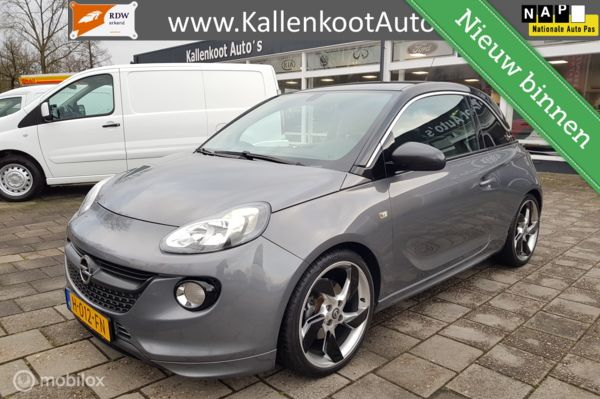 Opel Adam 1.0 Turbo (115 PK), Pano, LED, Navi, Leer, 18 inch