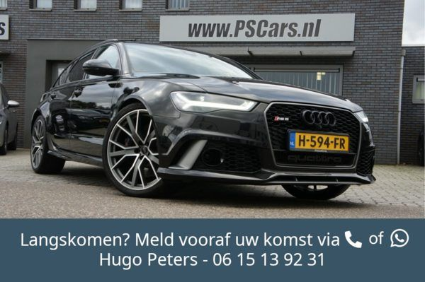 "Audi RS6 4.0 TFSI Quattro Performance 21""/Acc/Bose/Camera"
