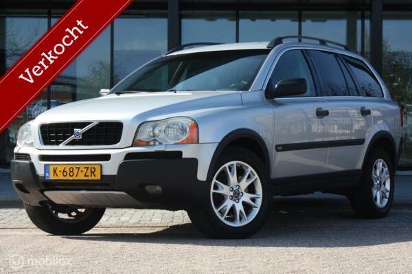 YOUNGTIMER Volvo XC90 2.5T aut 7-zit leer/trekhaak/historie