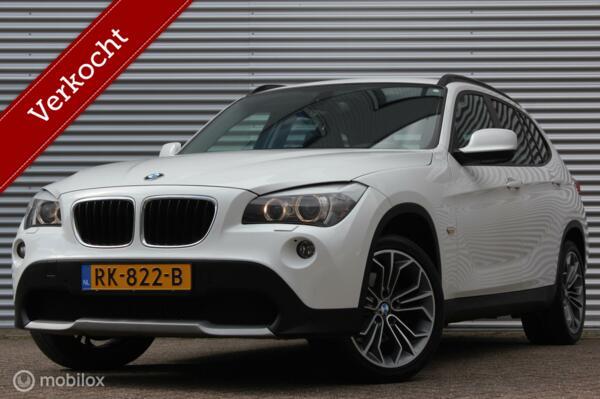 BMW X1 xDrive20d Sport /AUT./XENON/LED/LEDER/NAVI/PDC V+A/18'' VELGEN/BLUETOOTH/STOELVERW.!