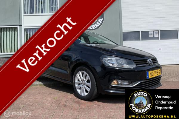 Volkswagen Polo 1.0 First Edition, Airco, Cruise control, lmv, nieuwstaat auto