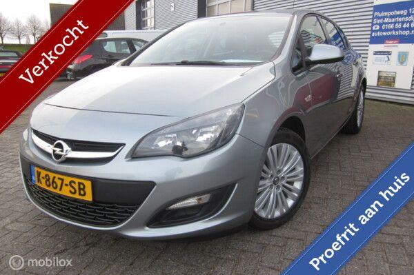 Opel Astra J 16 16v Design Edition/Airco/Lm velgen 17''/Bluetooth/2 eig/ 96000km/Cruise