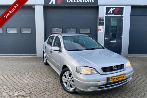 Opel Astra 1.6 GL 2001|NIEUW APK|5-DRS|ELEK RAMEN|LM VELGEN