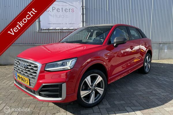 Audi Q2 VERKOCHT 1.4 TFSI 150PK CoD Sport Pro Line S / volledig S-Line / virtual display / Head-Up / Breedbeeld navigatie / NAP