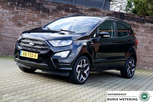 Ford EcoSport 1.0 EcoBoost 125PK ST-Line Black leer/xenon/nav/cam/ecc/lmv18