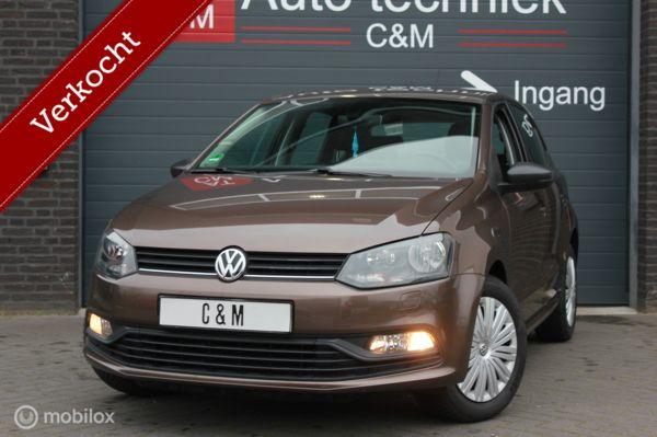 Volkswagen Polo 1.0 BlueMotion/toffeebruin/cruise/stoelverw!