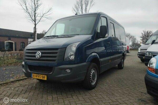 Volkswagen Crafter  L2 H1 nette rolstoelbus met airco en veel opties