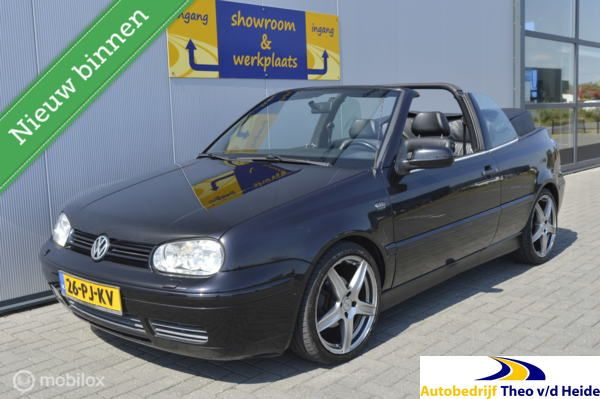 Volkswagen Golf Cabrio 2.0 Highline