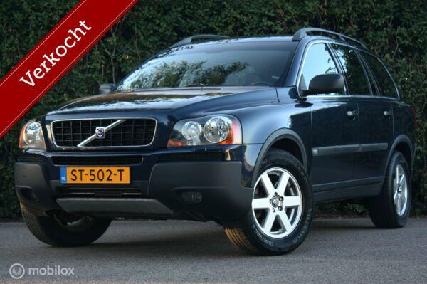 YOUNGTIMER Volvo XC90 2.5T AUT 7-zit leer/trekhaak/stoelverw