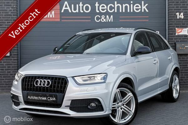 Audi Q3 1.4 TFSI 3xS-line/S-tronic/Led/Keyles/Pdc/Cruise/nav